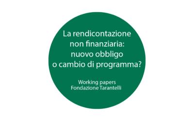 WORKING PAPER FONDAZIONE TARANTELLI N. 9