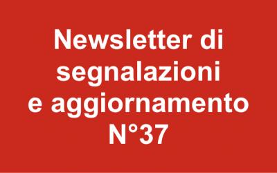 Newsletter 37 – ottobre 2018
