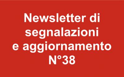 Newsletter 38 – Novembre 2018