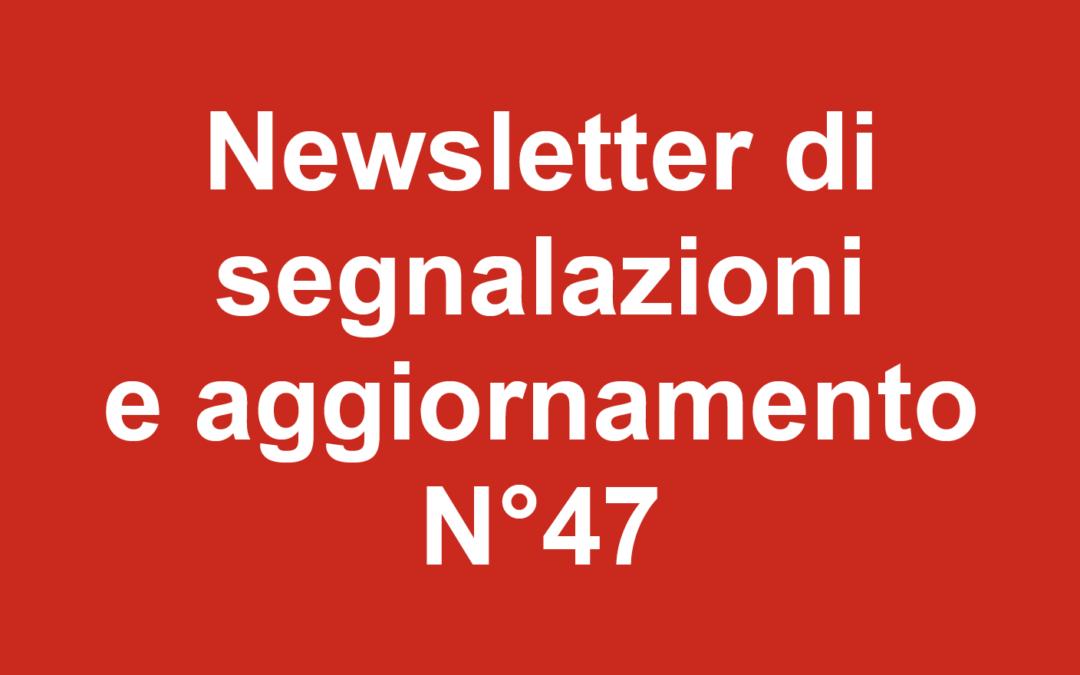 Newsletter 47 Febbraio 2020