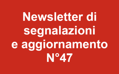 Newsletter 47 – Febbraio 2020
