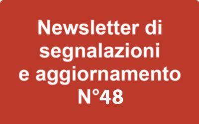 Newsletter 48 – Marzo 2020