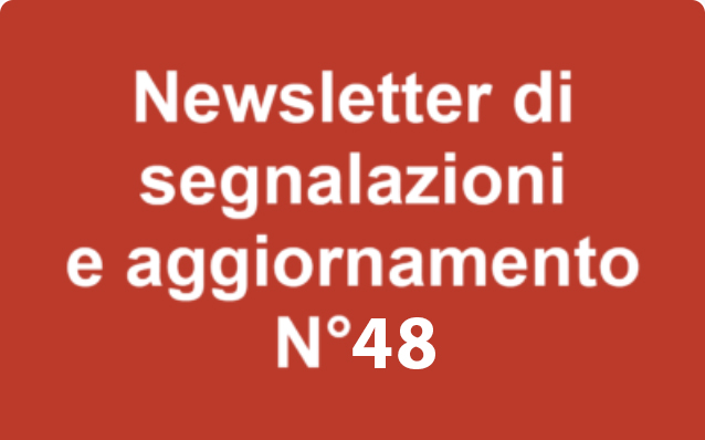 Newsletter 48 – Marzo 2020