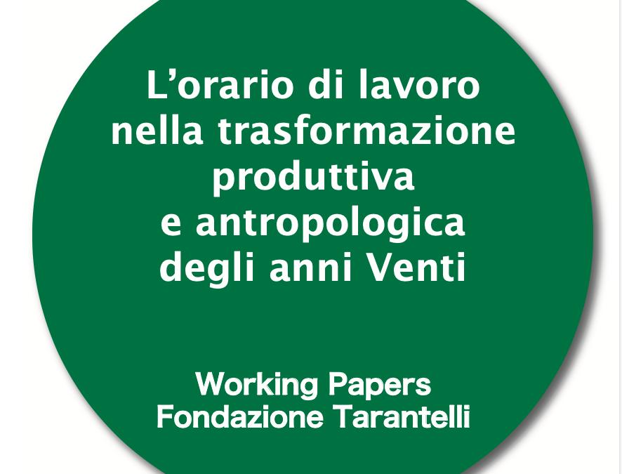WORKING PAPER N.18