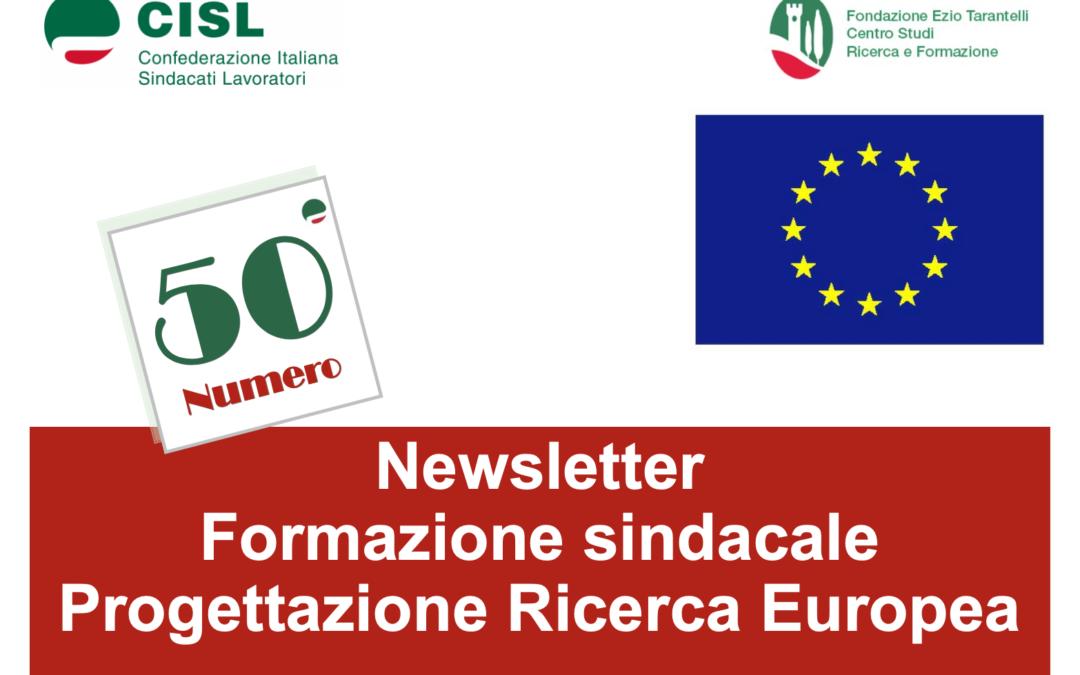 Newsletter 50 – Giugno 2020