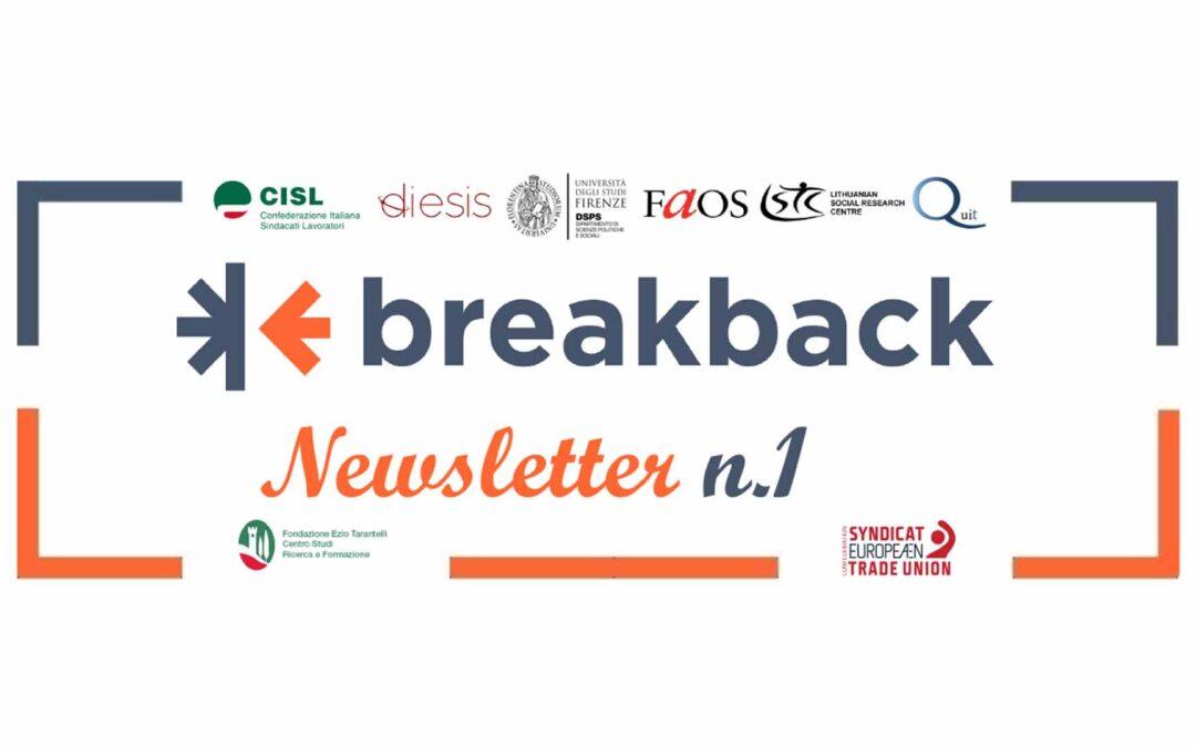 BreakBack – Newsletter N.1
