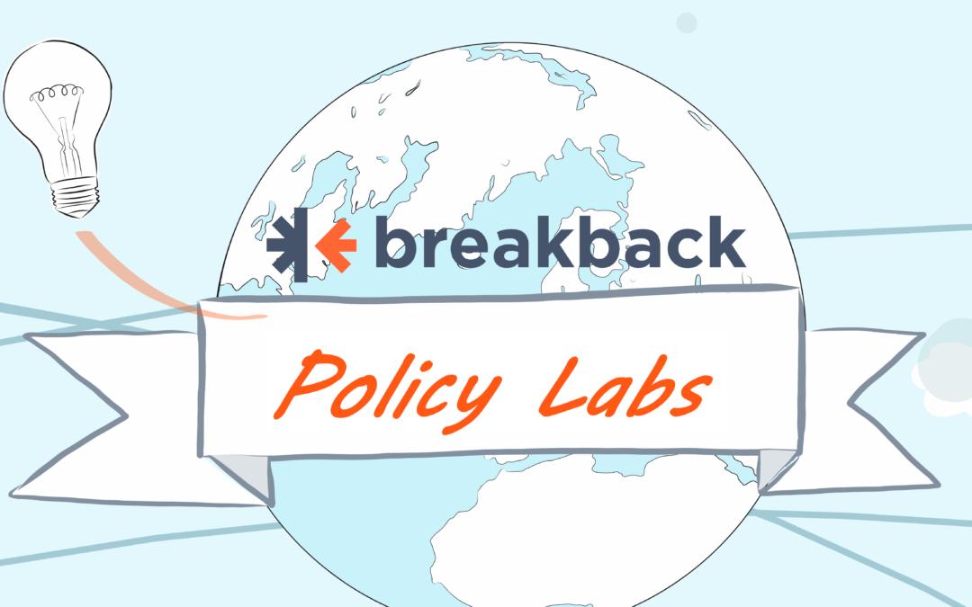 Tra servizi innovativi e nuove dimensioni associative: Policy Lab del progetto Break Back.