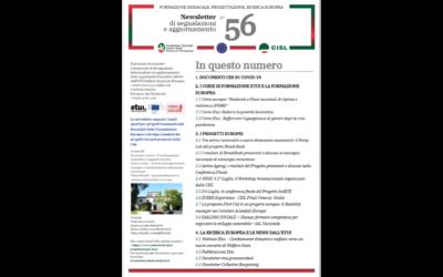 Newsletter Formazione Progettazione Ricerca Europea N°56