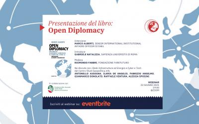 Presentazione del libro: Open Diplomacy