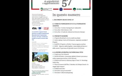 Newsletter Formazione Progettazione Ricerca Europea N°57
